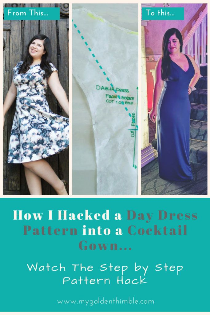 Learn How to Draft and Make your Own Evening Gown in 2018 | Learn to ...