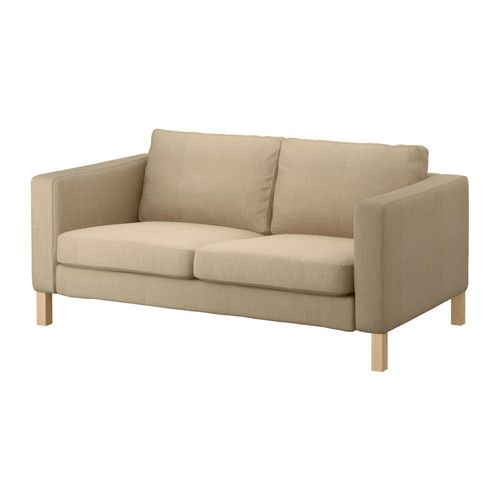 Awesome Ikea Karlstad Loveseat Lindo Beige 579 With Removable Evergreenethics Interior Chair Design Evergreenethicsorg