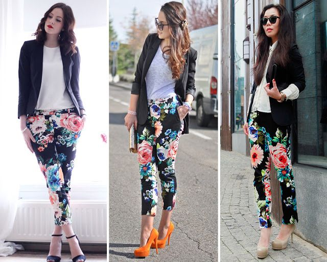 300c2cbc82 Art Symphony  ways to wear a flower pant...