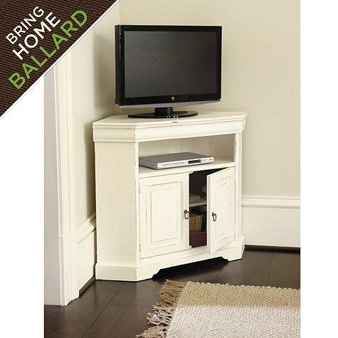 Angullo Corner Media Cabinet Ballard Designs Corner Tv Cabinets Corner Media Cabinet Corner Tv Stands