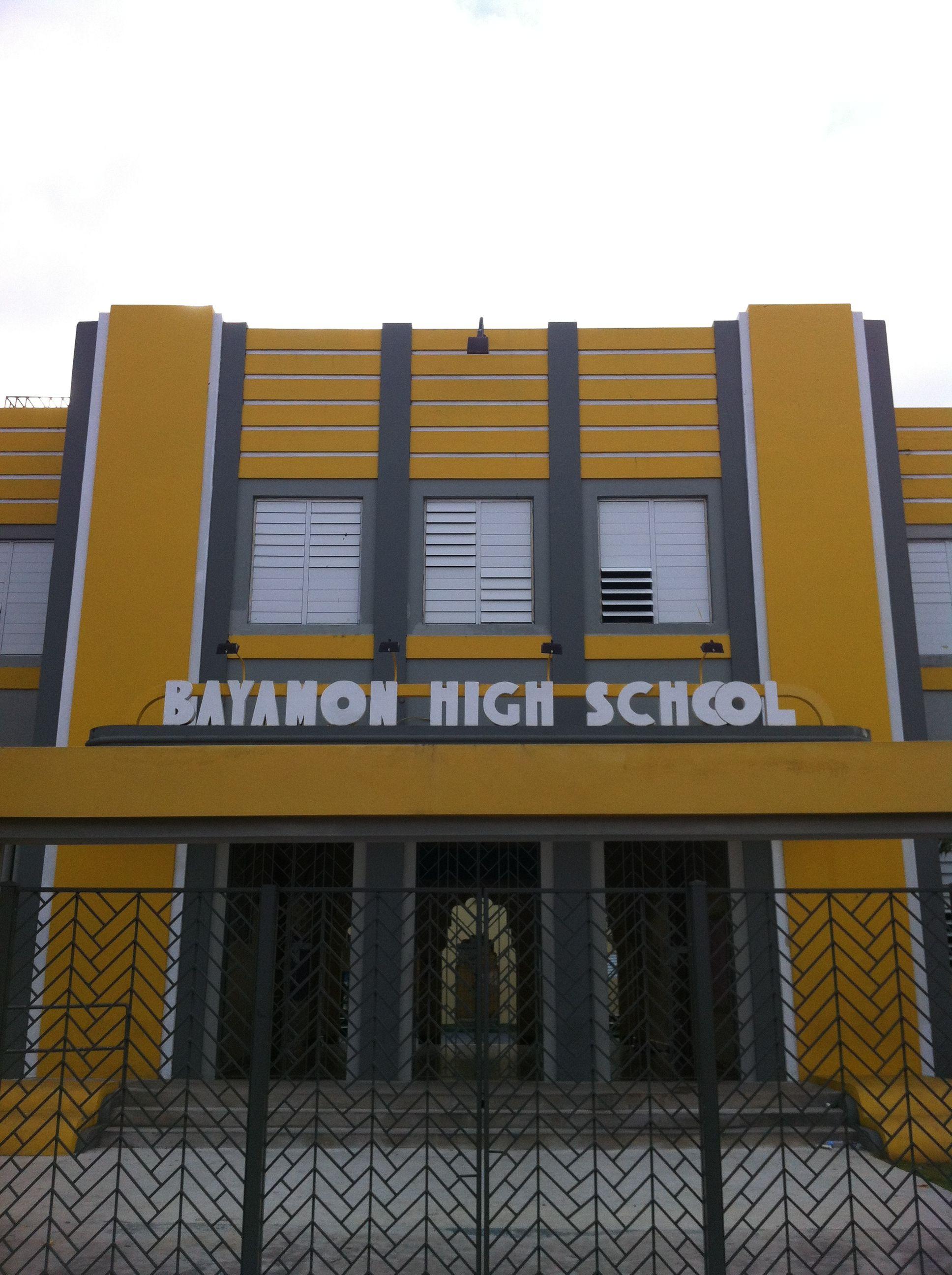 Agustin Stahl High School Bayamon, Puerto Rico  Puerto -9961