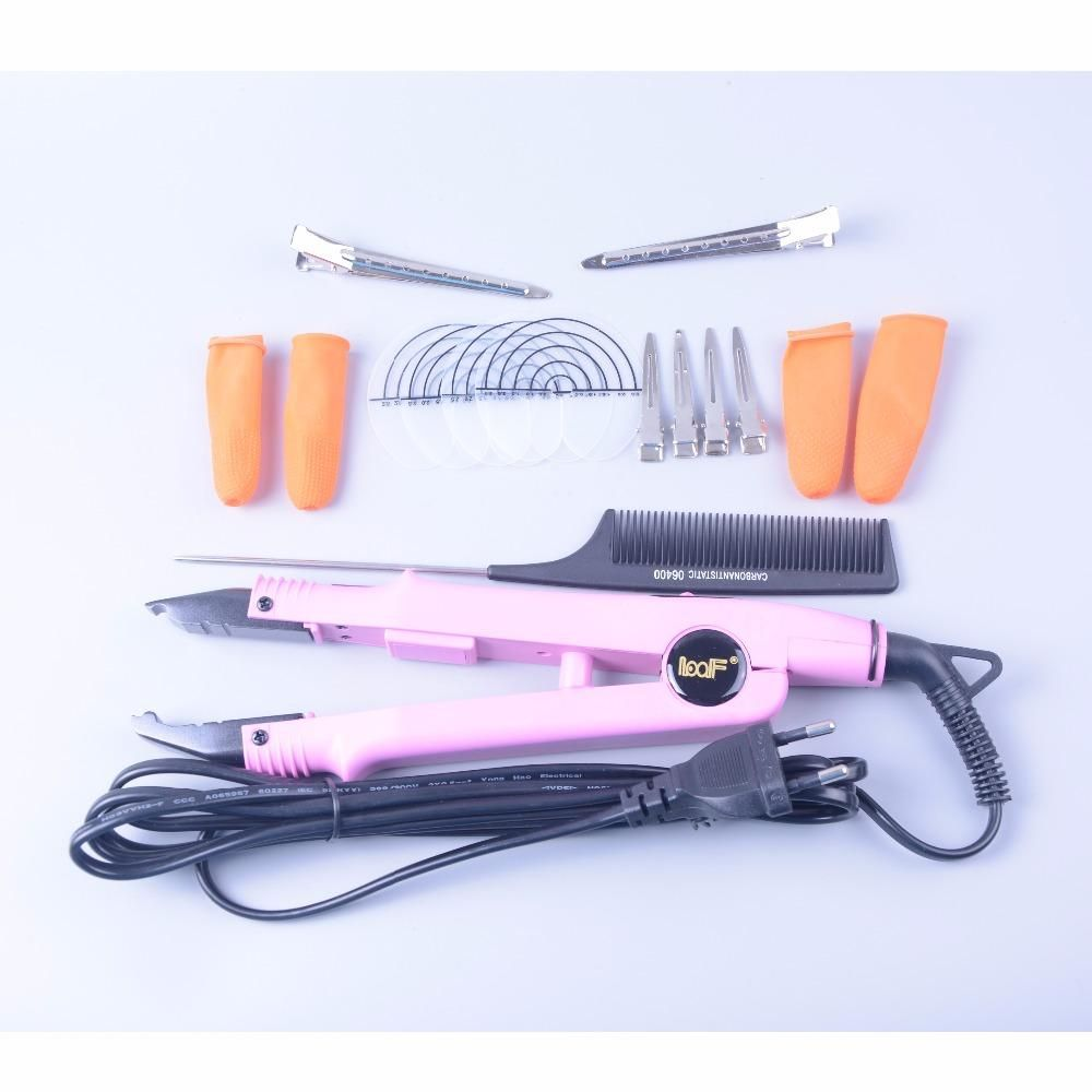 New Style Professional Loof Hair Extension Fusion Iron Tool Pre