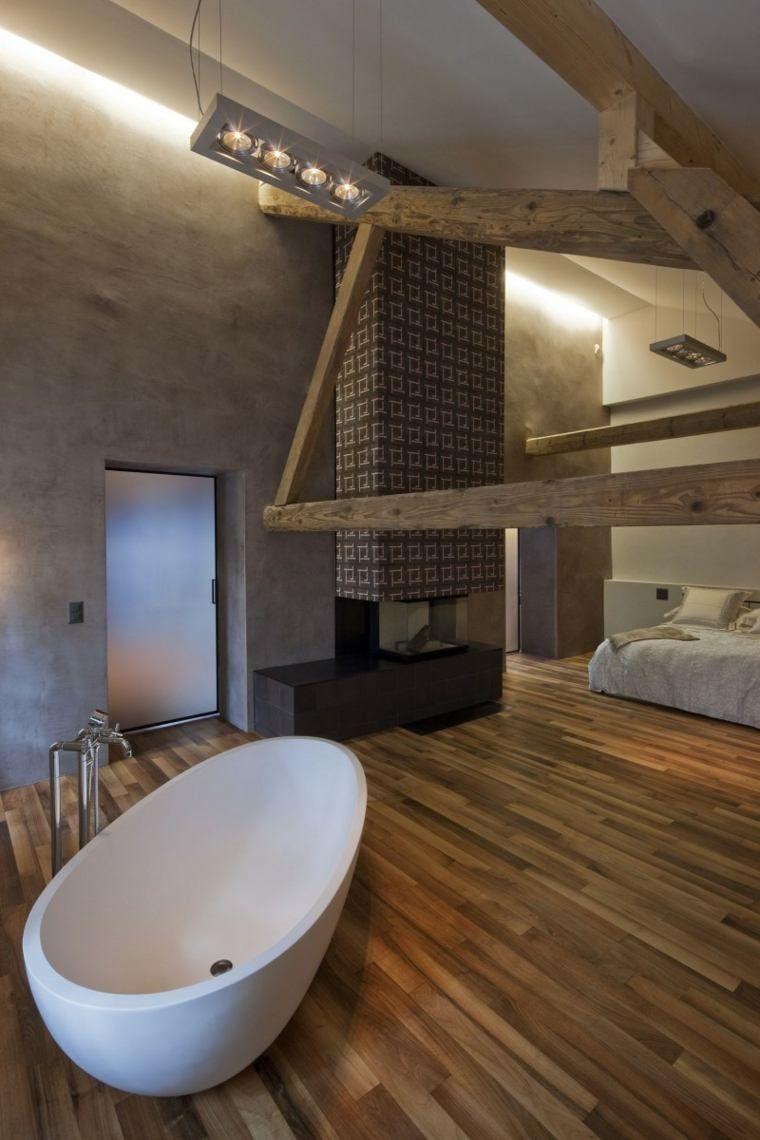 Badezimmer im Schlafzimmer: ein eleganter und praktischer Trend ...