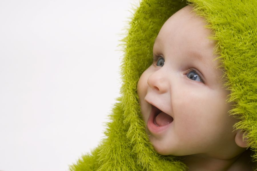"""""""Awe-inspiring awareness.""""  Baby-picture-1 from Twurts and Geekery blog."""