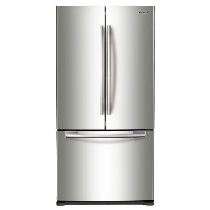 Samsung 33 17 5 Cu Ft French Door Refrigerator Stainless Steel Pcrichard Com Rf18hfenbsr Counter Depth French Door Refrigerator French Door Refrigerator Best Counter Depth Refrigerator