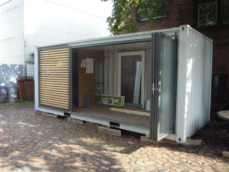 Containerhaus Containerhouse in 2019 Container häuser