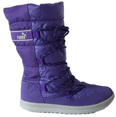 Buty Sniegowce Damskie Puma 354349 04 6477748386 Oficjalne Archiwum Allegro Boots Shoes Winter Boot