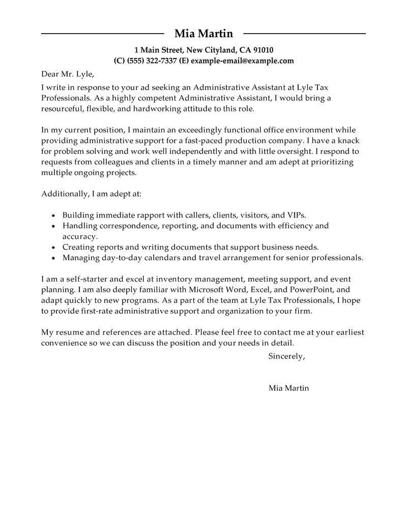 The Best Resume Cover Letter Job cover letter