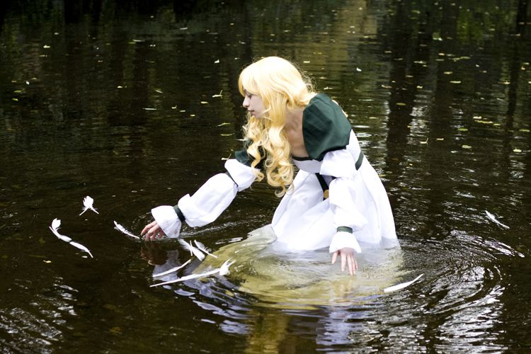 """""""White feathers"""" Swan Princess cosplay by Vin-dit on deviantART"""