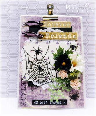 Riddersholm Design: Giftbag & Pumpkin Card | by Dunja