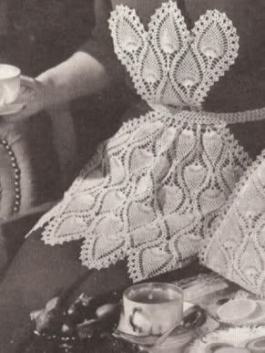 #2352 CELIA TABLE CLOTH VINTAGE CROCHET PATTERN