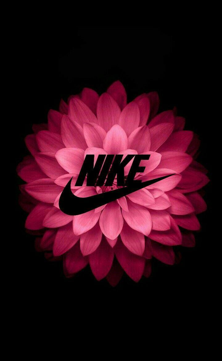 Fond Decran Fleur Nike By Marya In 2020 Nike Wallpaper Nike Wallpaper Iphone Nike Wallpaper Backgrounds