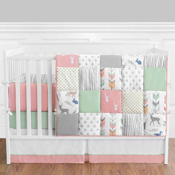 Sweet Jojo Designs Woodsy 9 Piece Crib Bedding Set