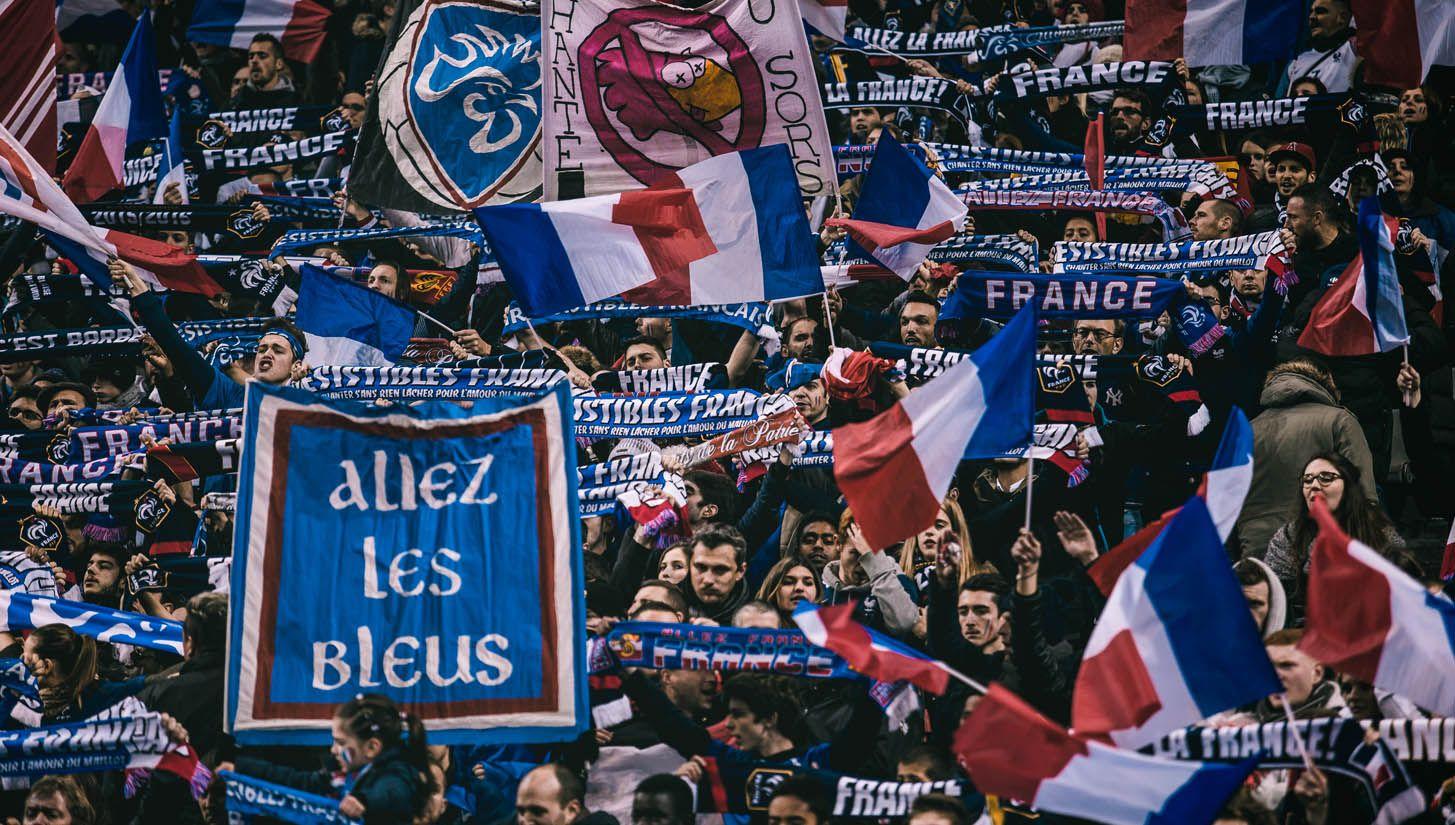 Framed France v Sweden SoccerBible France
