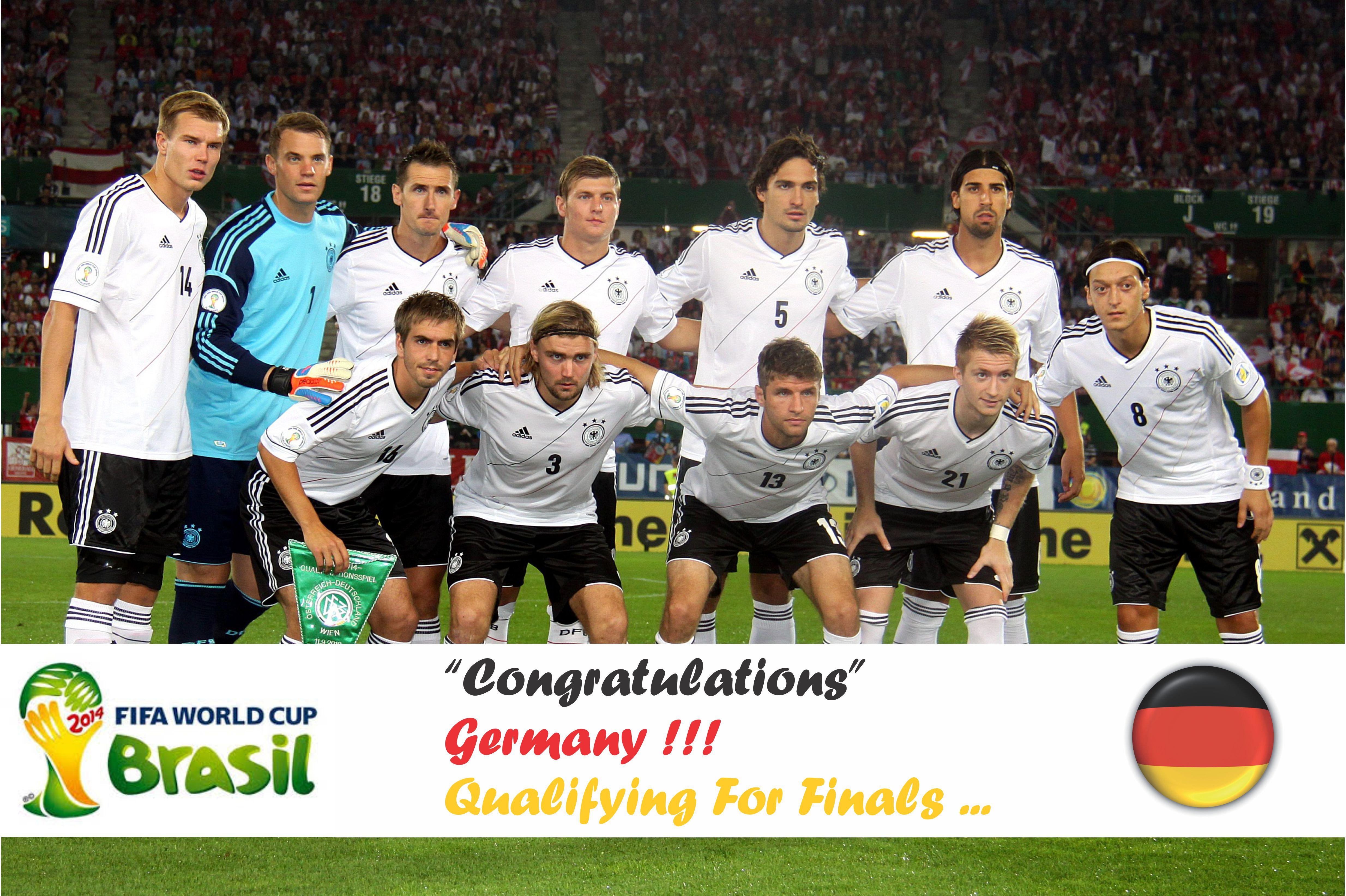 Fifa Feaver 2014 Germany National Football Team World Cup Teams Germany Football Team
