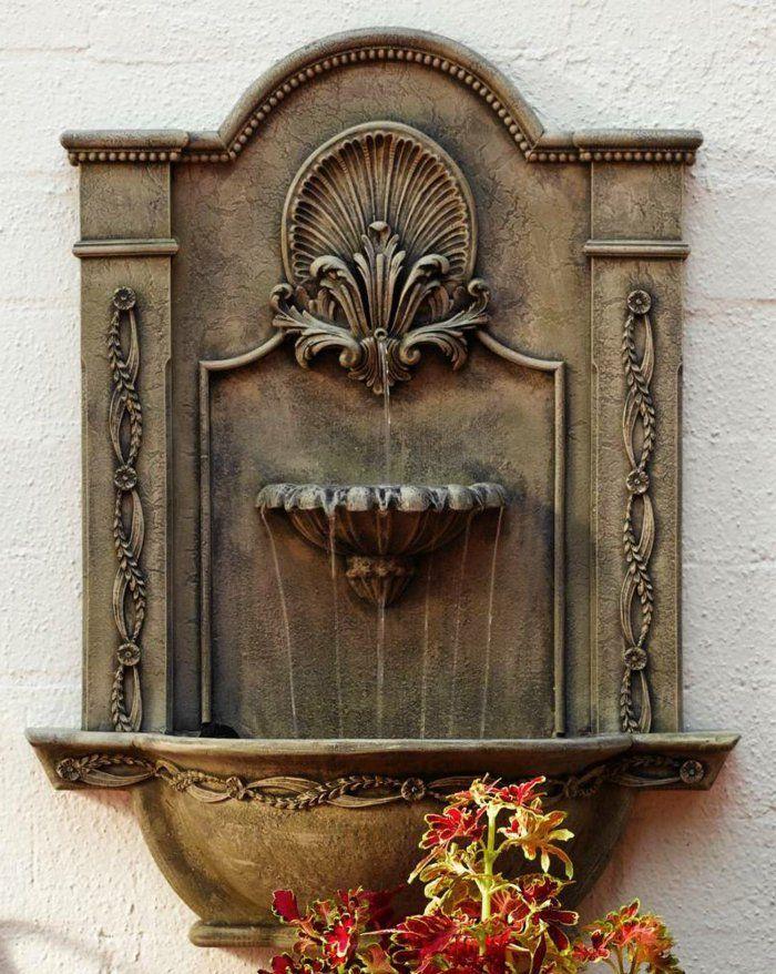 Wandbrunnen Elegante Ideen Wie Sie Den Außenbereich Verschönern