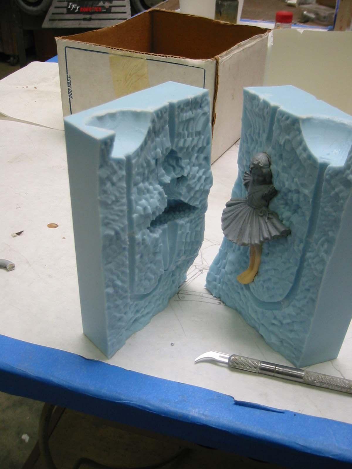 Primer — Moldmaking | Stump | Diy molding, Plaster art, Diy silicone