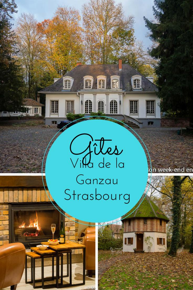 Gites La Villa De La Ganzau A Strasbourg Mon Week End En Alsace Gite De France Gite Maison D Hotes