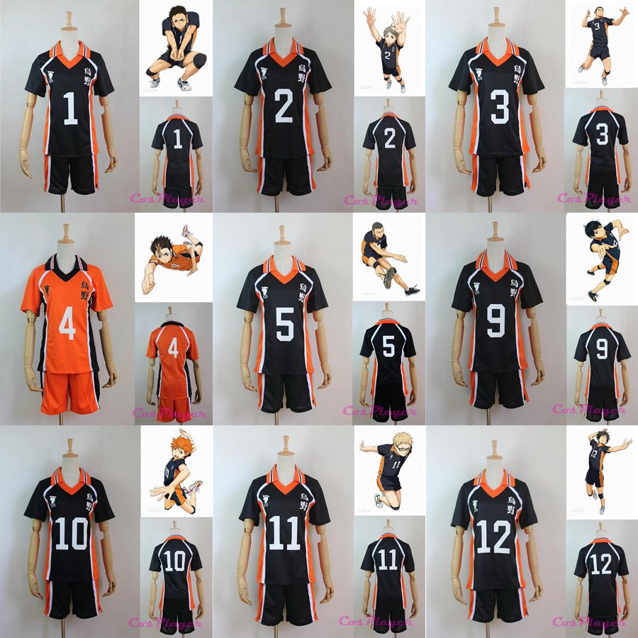 Sportswear Womens Picture More Detailed Picture About New Arrival Hot Anime Karasuno High School Volleyball Club Cos Cosplay Costumes Haikyuu Cosplay Cosplay