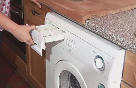 les 6 astuces pour un nettoyage complet de la machine laver id es pour la maison. Black Bedroom Furniture Sets. Home Design Ideas