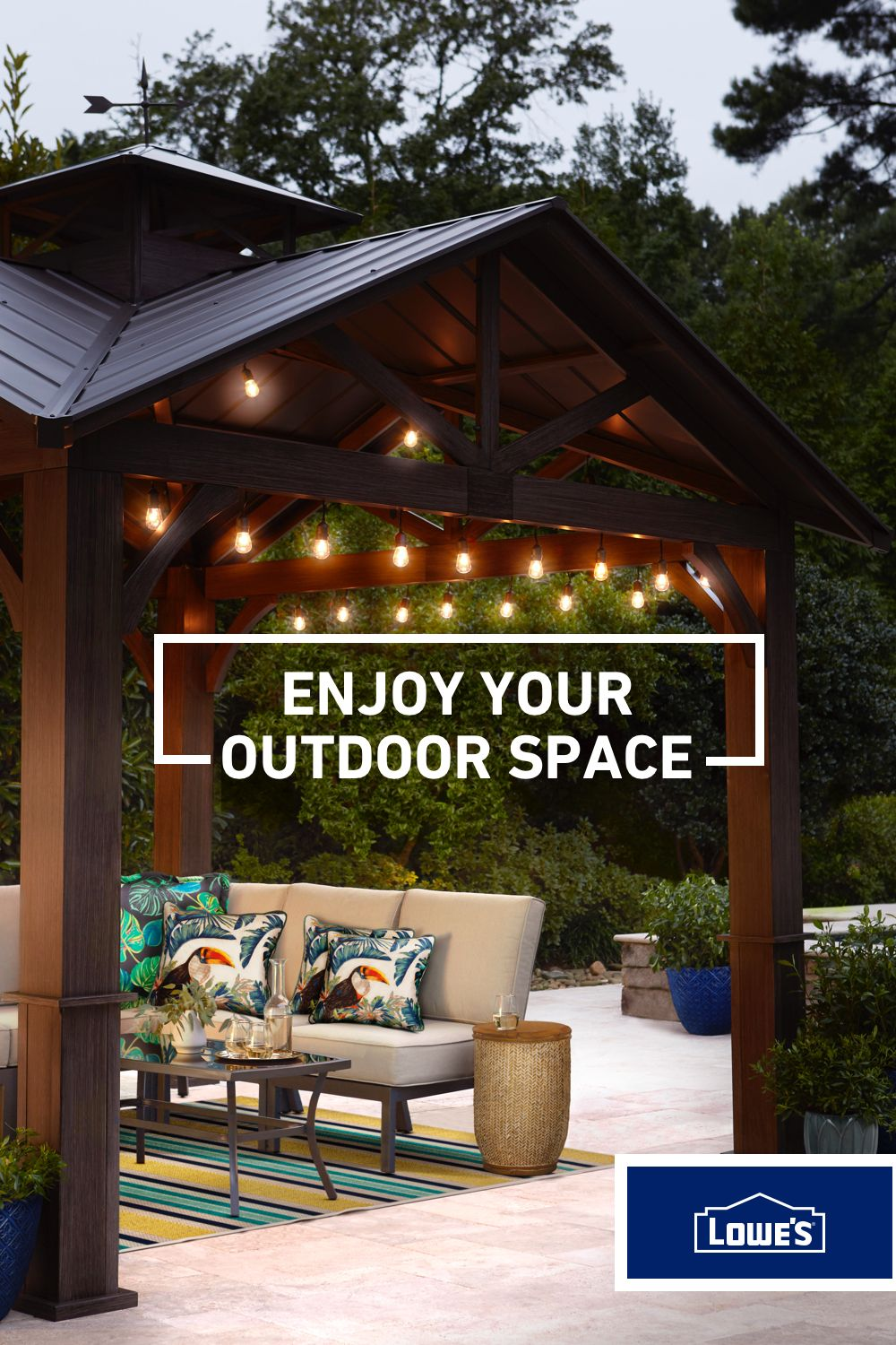 Create Your Own Outdoor Oasis With Gazebos Pergolas And Canopies