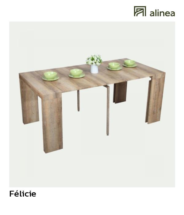 Alinea Félicie Table Console Extensible L45 à 180cm 1 à