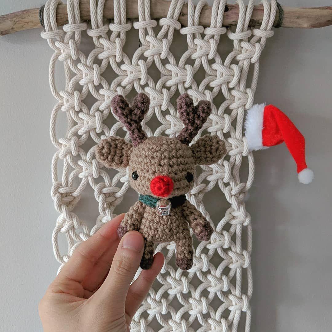Amigurumi Rudolph the Reindeer   Holiday crochet, Crochet ...   1080x1080
