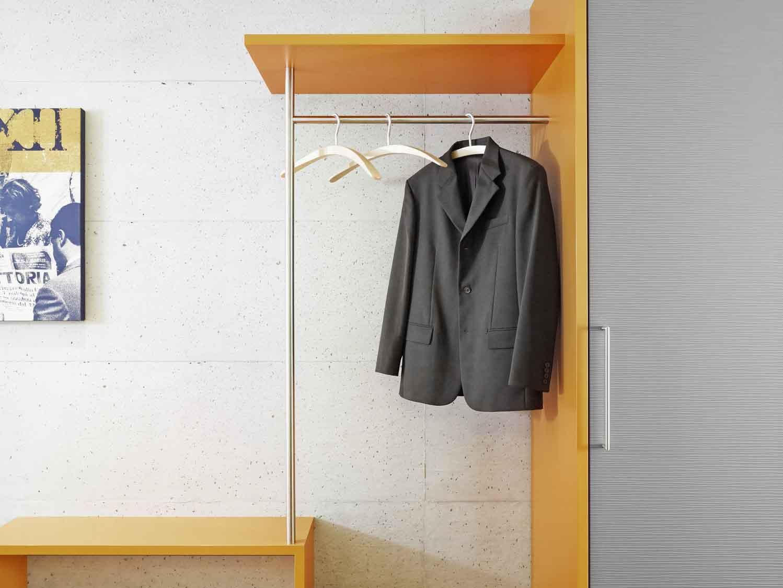Garderobenschrank Die Individuelle Garderobe Nach Mass