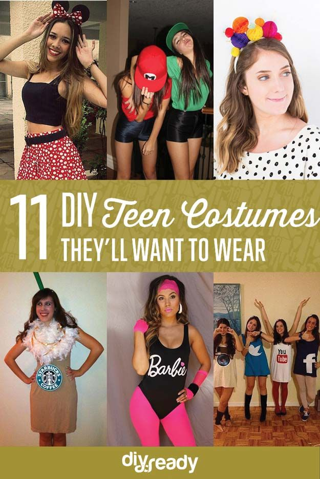11 DIY Costumes For Teens Is Your Teen Going To A Costume Party