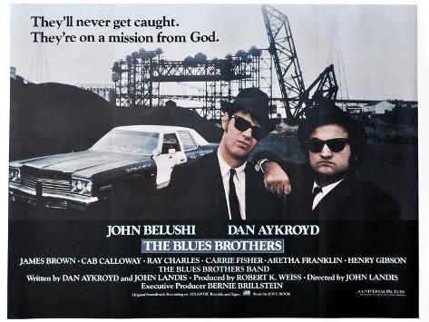 Photo THE BLUES BROTHERS, 1980 directed by JOHN LANDIS