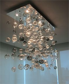 Bubbleglasschandelier google search lampara brillantes bubbleglasschandelier google search aloadofball