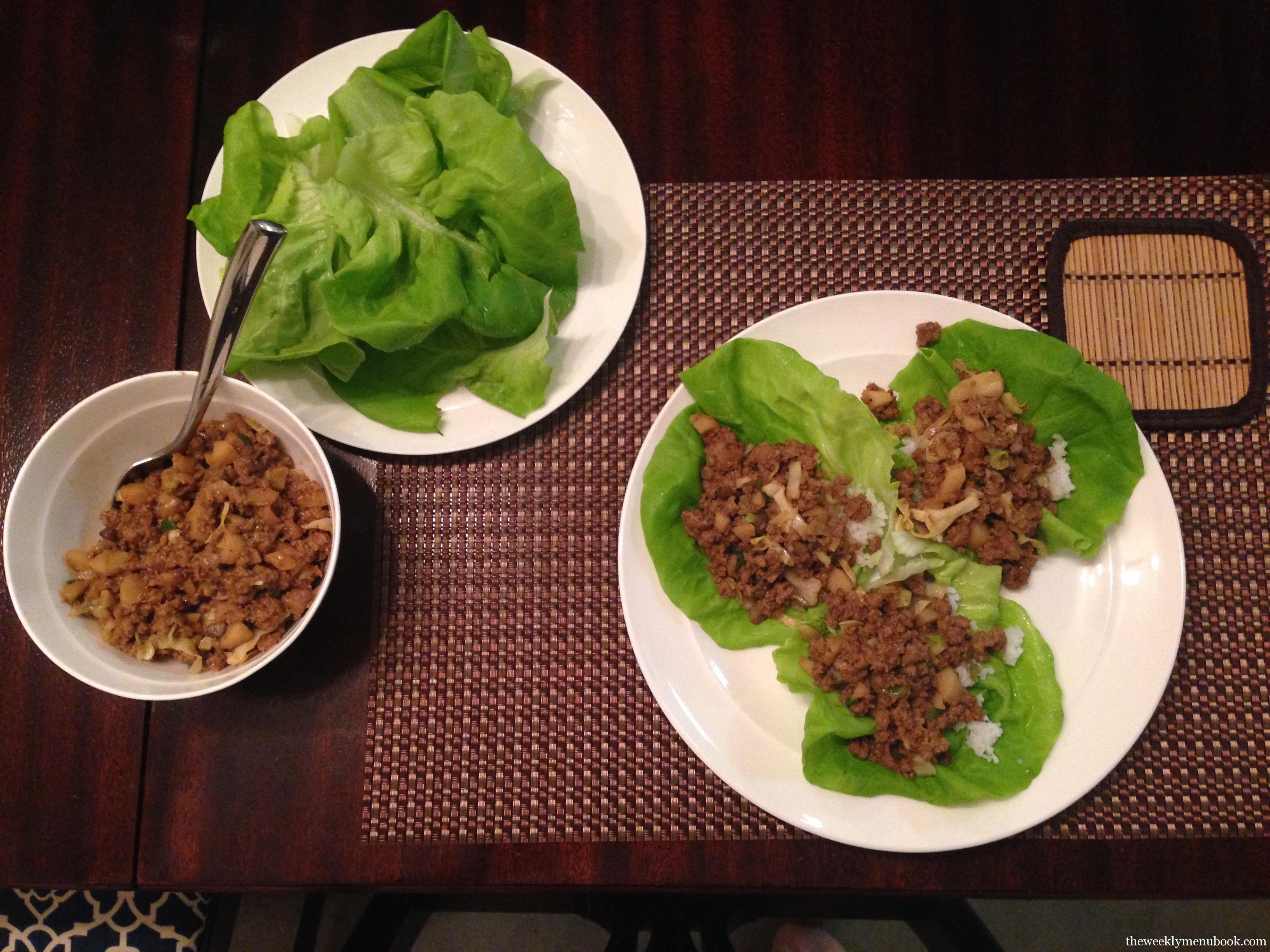 pf chang style lettuce wraps  recipe  lettuce wraps