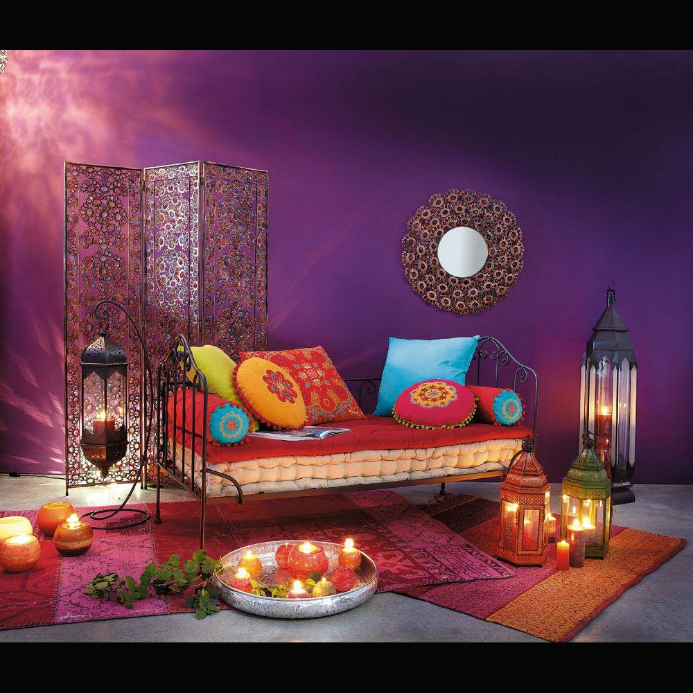 7 coussins matelas en coton multicolore matelas ensemble et coussin matelas. Black Bedroom Furniture Sets. Home Design Ideas