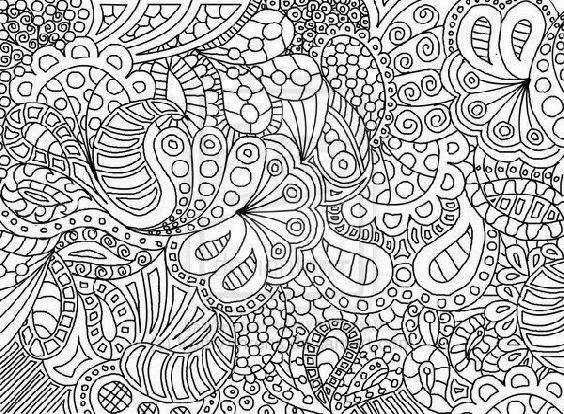 Decorative Coloring Pages Google Search Abstract Coloring Pages Paisley Doodle Paisley Coloring Pages