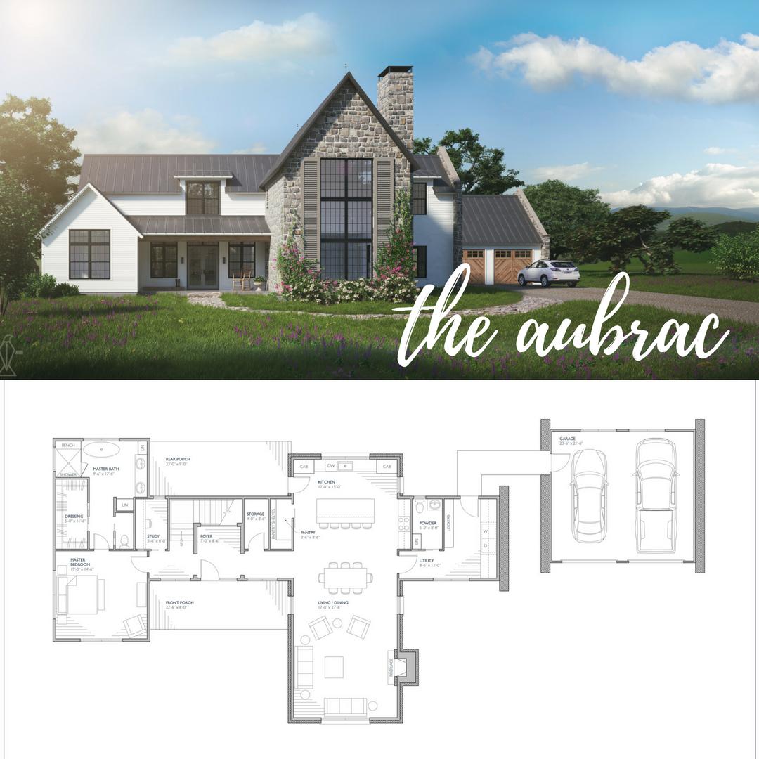 Aubrac Farmhouse Plans Southern House Plans House Plans Farmhouse