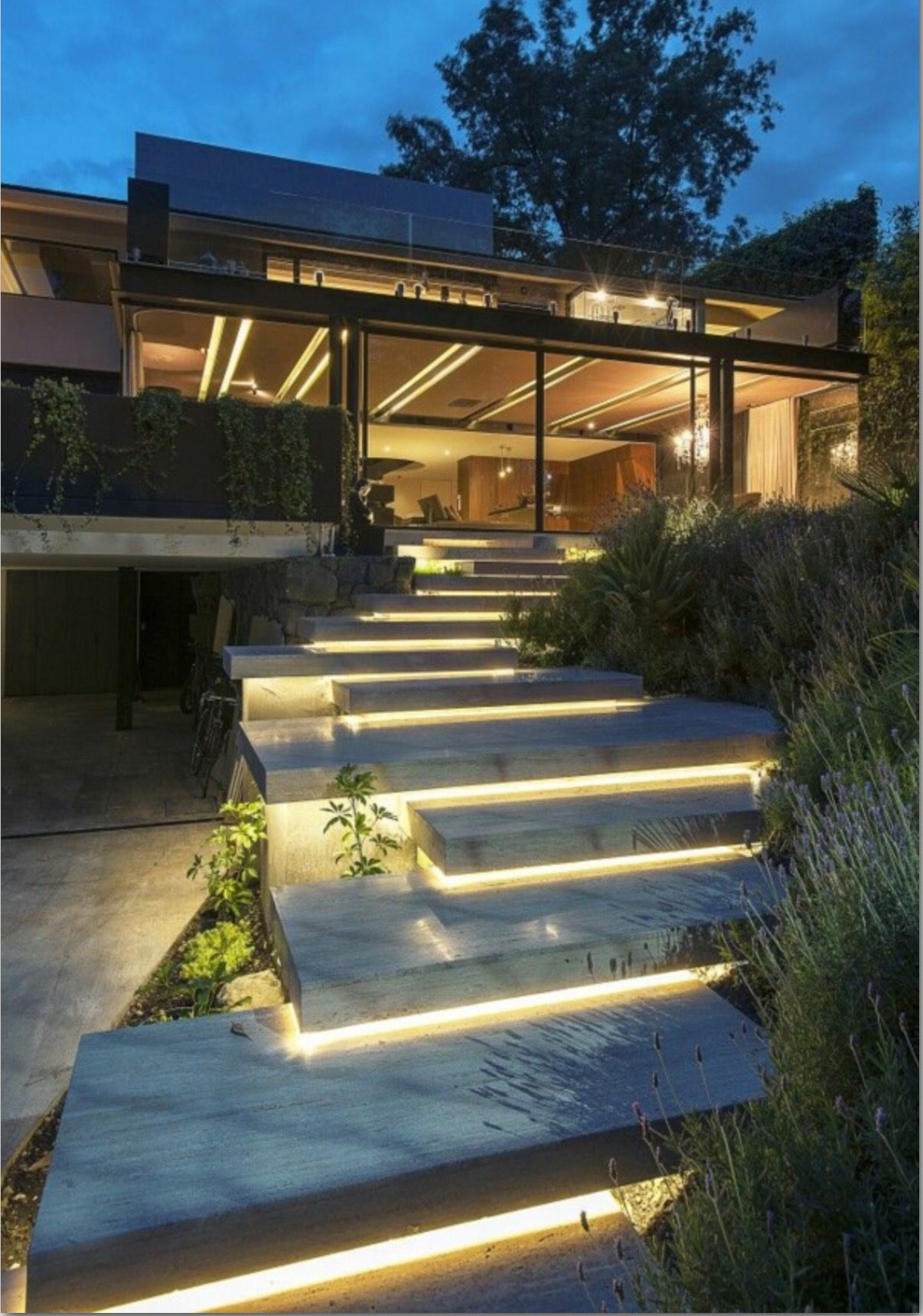 Chic modern garden design in chelsea by declan buckley with steps and - Find This Pin And More On Garden Design By Kattnig