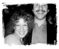 Bette Midler with ?. If this is your picture or you know who it belongs to please tell me.