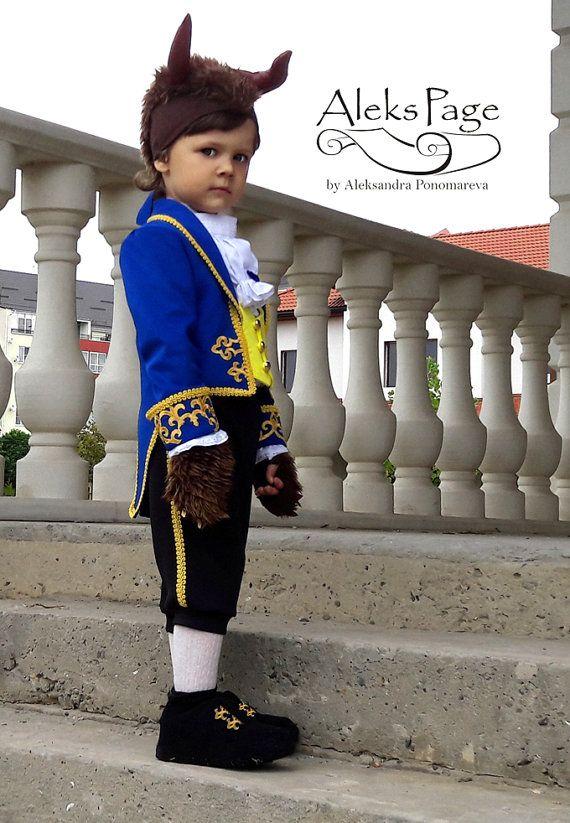 684f4da8e3f7 Beast Costume For boy Disney Beauty and the Beast by AleksPage ...