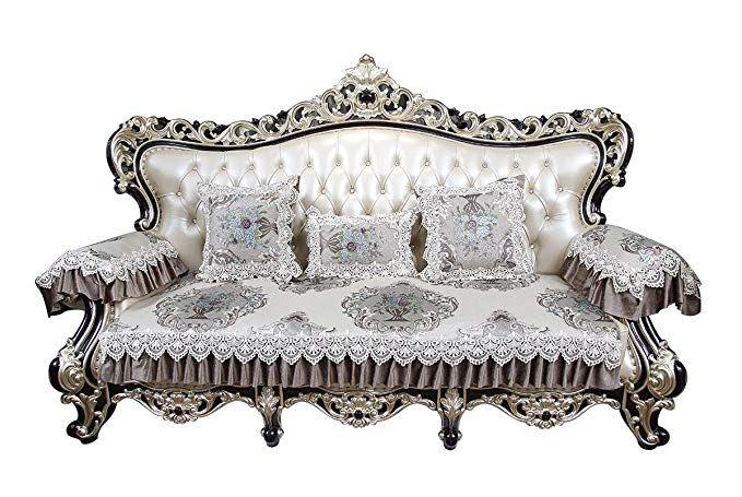 Astounding Sideli European Anti Slip Sofa Cover Sofa Protector Non Slip Short Links Chair Design For Home Short Linksinfo