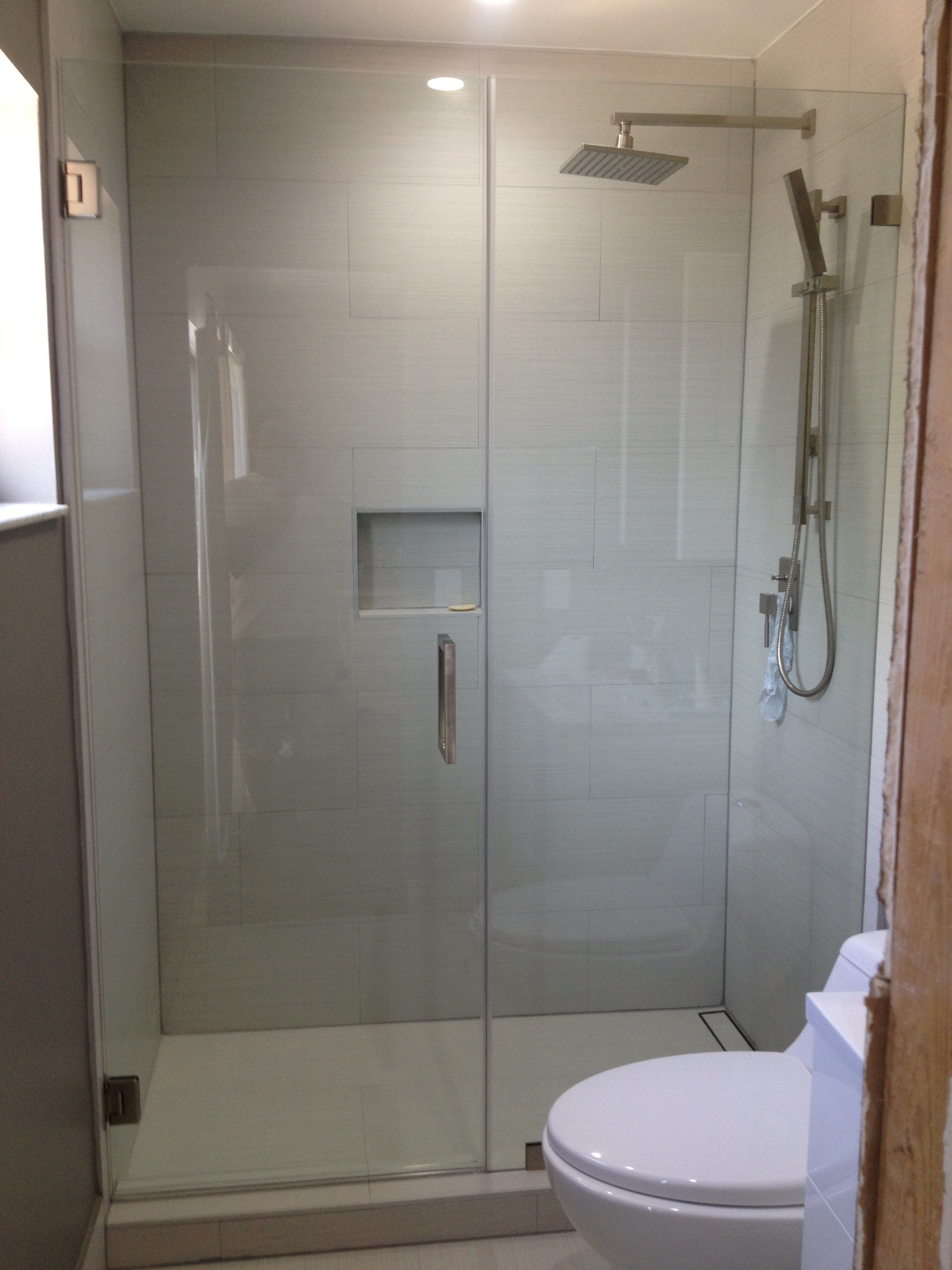 bathroom glass doors miami