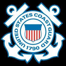 Us Coast Guard Official Logo Coast Guard Logo Us Coast Guard Coast Guard