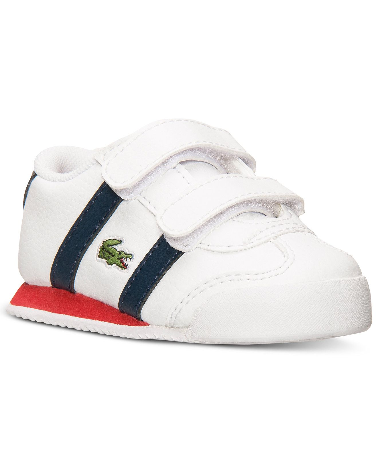 53219f09 Lacoste Toddler Boys' Tourelle CLC Casual Sneakers from Finish Line - Kids  Shoes - Macy's