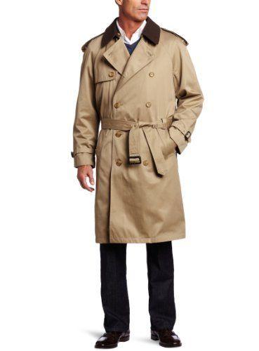 Hart Schaffner Marx Mens Raincoat