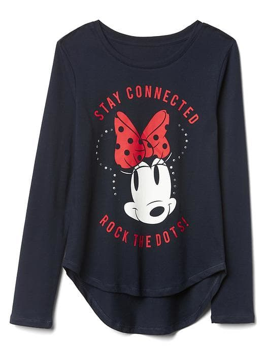 1e45827a GapKids | Disney Mickey Mouse and Minnie Mouse sequin graphic tee 27 ...