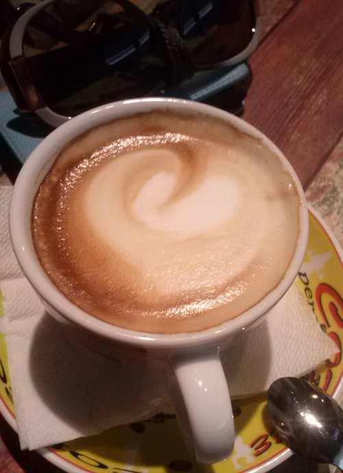 Coffee heart  ☺. ☺. ☺