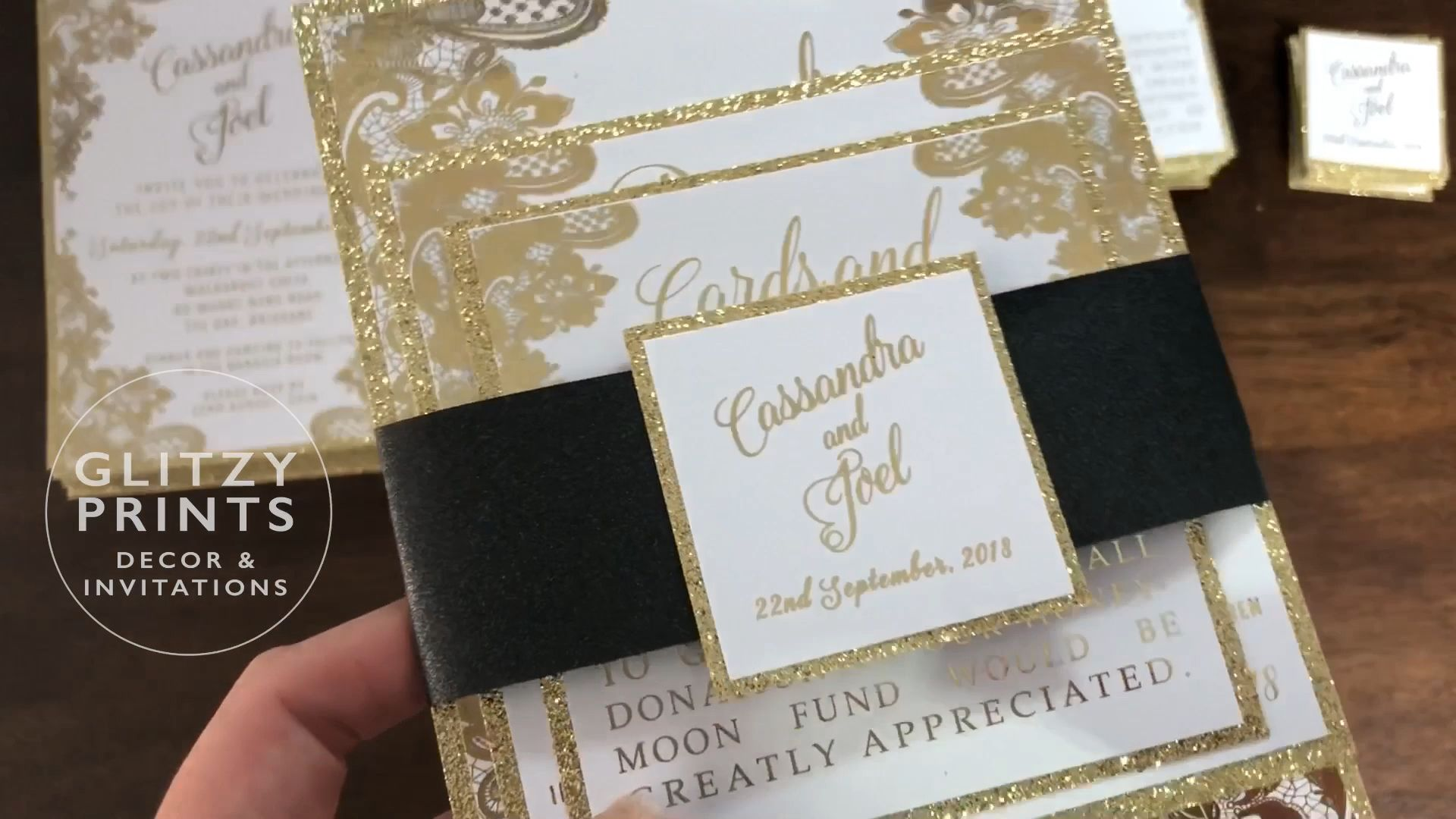 Glitzy Prints offer a beautiful range of affordable invitations ...