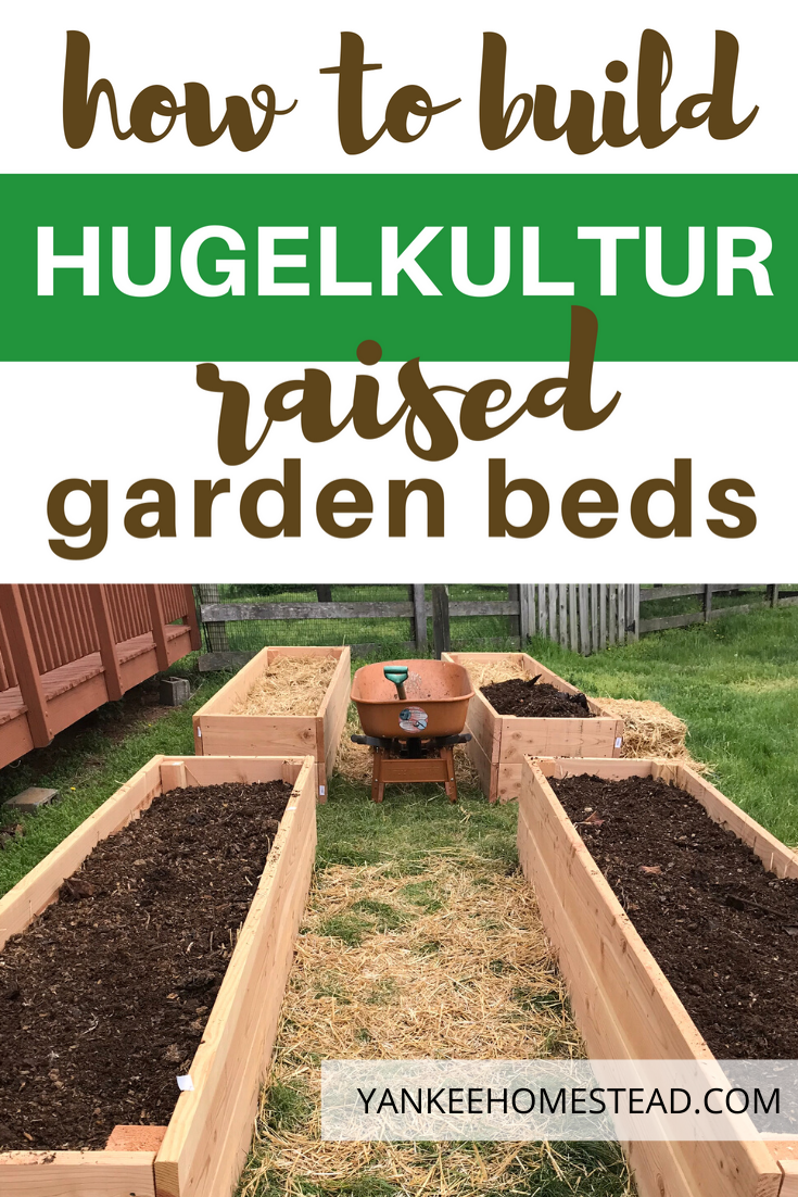 How to Build Hugelkultur Raised Garden Beds is part of Garden beds, Vegetable garden raised beds, Raised garden beds, Raised garden, Vegetable beds raised, Raised bed herb garden - Hugelkultur raised garden beds make perfect sense for the organic gardener! Rotting wood and other organic materials retain water, enrich the soil, recycle tree waste, maximize growing space, and produce robust crops  Why didn't I think of this before