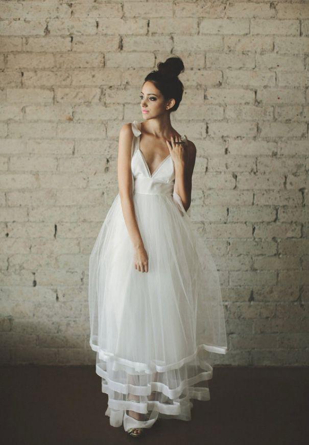 Rock n roll wedding dress