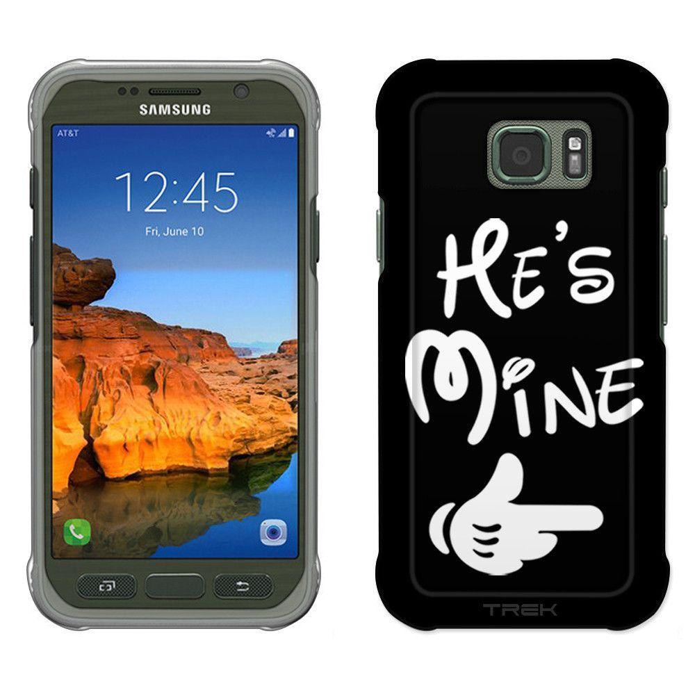 Samsung Galaxy S7 Active He's Mine on Black Slim Case