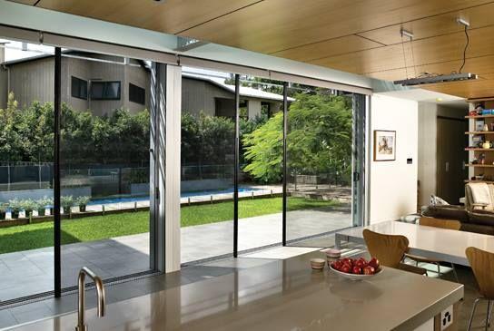 Retractable Screens Can Be Vertical Or Horizontal In 2017 With Images Folding Patio Doors Fly Screen Doors Sliding Screen Doors